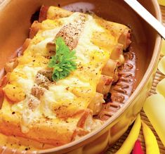 Cannelloni regal Ricotta, Different Vegetables, Tortellini, Greek Recipes, Mashed Potatoes, Biscuits, Pork, Cooking Recipes, Sweets