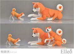 Akita bjd doll 05 by leo3dmodels.deviantart.com on @deviantART