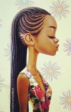 Box braids embutidas