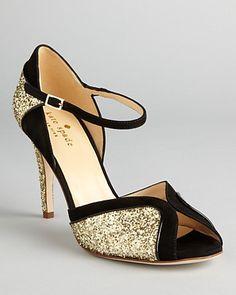 kate spade new york Peep Toe Evening Sandals - Corinne High Heel - Shoes - Bloomingdale's