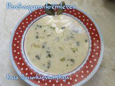 Póréhagyma-krémleves Cheeseburger Chowder, Soup, Soups