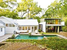 ... contemporary architecture. This is such an elegant and modern home