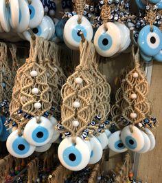 Evil eye wall hanging, evil eye macrame wall hanging, white evil eye bead, evil eye home decoration, turkish evil eye bead, white eye charm  #homedecor #kitchendining #unframed #macramewallhanging #evileyewalldecor #whiteevileyecharm #macramewallhanging #evileyebeads #evileyecharm #whiteevileyebead #wallhanging Polymer Clay Crafts, Handmade Polymer Clay, Macrame Wall Hanging Diy, Macrame Art, Evil Eye Art, Evil Eye Jewelry, White Eyes, Plastic Jewelry, Hamsa Hand