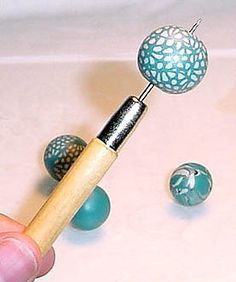 Polymer beads tutorial. Lots of stuff on this board about Polymer. http://pinterest.com/tgillespie67/polymer-clay-info/
