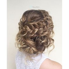 27 Gorgeous Prom Hairstyles for Long Hair, - Lange Haare Ideen Formal Hairstyles For Short Hair, Braids For Short Hair, Easy Hairstyles, Gorgeous Hairstyles, Short Braided Hairstyles, Female Hairstyles, Teenage Hairstyles, Hairstyles Videos, Hairstyles Pictures