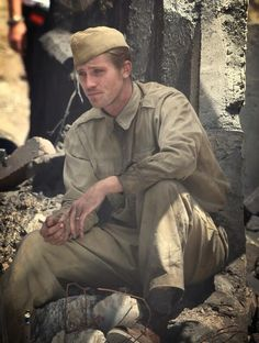Garrett Hedlund as Fitzgerald in 'Unbroken' // GAAAAAAAAAAH. He's my favorite. @inklingspress - I'm totally going to have to write an 'awesomeness' post about him sometime soon.