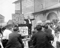 Minister Preacher At Coney Island 1900s 8x10 Reprint Of Old Photo | eBay