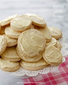 With lemon in both the cookie and the frosting, these thin Frosted Lemon Cookies are perfect for any occasion.