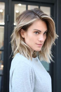 "Deep Side Part Lob | Lobs and bobs and crops, oh my! Coco Chanel once said, ""A woman who cuts her hair is about to change her life."" While that might be a tad embellished—Southern women do love a little hyperbolic flair—our hair has the power to make a statement, set the tone, or give a pop of confidence on any day. With trendy pixies, crops, and bobs aplenty, 2018 is absolutely teeming with gorgeous short hair inspiration already. Southern women know when it's time to make the chop, whether"