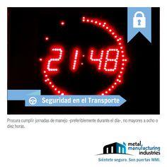 El consejo de #Seguridad en el Transporte de hoy, viene bien en estas fechas en que algunos todavía están de vacaciones.