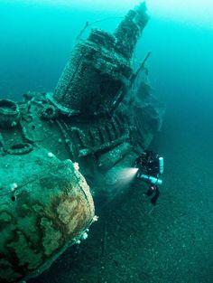 Sunken U boat