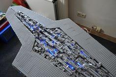 Star Wars - Executor - Darth Vader's Super Star Destroyer #starwars #darthvader #lego #destroyer #executor
