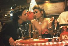Still of Demi Moore and Andrew McCarthy in St.Elmo`s fire <3