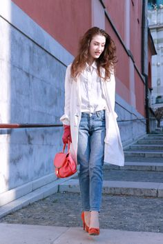 Fashion blogger Veronika Lipar of Brunette From Wall Street on how to adopt color trend this season