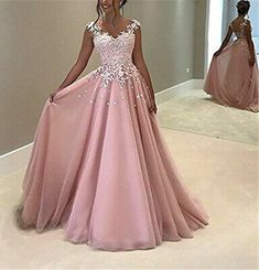 Baby Pink Prom Dresses, Pink Formal Dresses, Gold Prom Dresses, Prom Dresses For Teens, Unique Prom Dresses, Prom Outfits, Evening Dresses For Weddings, Prom Dresses With Sleeves, Ball Dresses