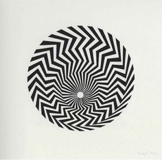 Bridget Riley. Untitled (based on Primitive Blaze), 1962