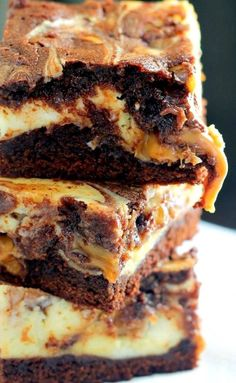 Milky Way Caramel Cheesecake Brownies Recipe . These are seriously one of the best desserts