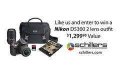 Win a Nikon D5300 Digital Camera