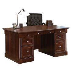 Office Depot Sauder Heritage Hill Executive Desk   Http://i12manage.com    Pinterest   Desks, Office Desks And Desk Lamp