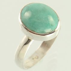 Amazing Ring Size US 6.75 Natural TURQUOISE Gemstone 925 Sterling Silver Jewelry…
