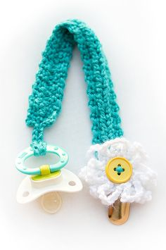 PATTERN Braided Pacifier/Binkie Clip by CrochetOle2013 on Etsy, $1.50