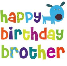 Brother Happy Birthday Card
