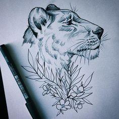 """89 kedvelés, 5 hozzászólás – Essi Tattoo & Art ✨ (@essitattoo) Instagram-hozzászólása: """" #lion #drawing #sketches #pencil #ink #sketch #sketchbook #animaldrawing #inkdrawing…"""""""