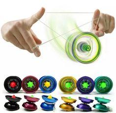 BOHS Alloy Cool Aluminum Design High Speed Professional YoYo Ball Bearing String Trick  Yo-Yo Kids Magic Juggling Toy