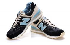 Mtef New Balance 574 ML574RUN Herren Schuhe Marine Blau/Golden Gelb