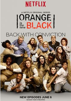 Orange Is the New Black: Season 2 TV-MA | 59min | Comedy, Crime, Drama | TV Series (2014–2015) The story of Piper Chapman, a woman in her thirties who is sentenced to fifteen months in prison after be