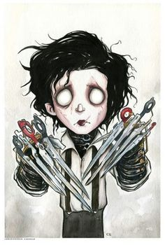 Edward Scissorhands - This would make an awesome tattoo