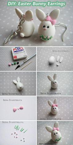 fimo konijntjes
