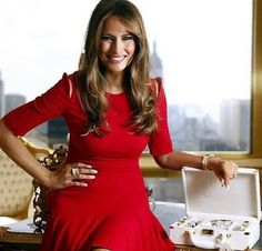 Melania For First Lady! #MakeAmericaGreatAgain hashtag on Twitter
