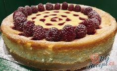 Nejlepší cheesecake s malinovými srdíčky