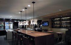 Grand Club at the Grand Hyatt Lighting Design | Lighting Designer: Atelier Lumiere, Inc. | Architect: George Wong Design | USAI Lighting
