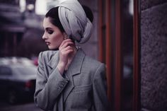 grey turban