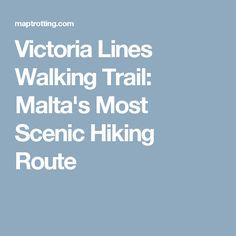 Victoria Lines Walking Trail: Malta's Most Scenic Hiking Route
