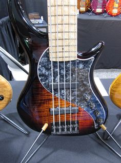 Sweet Pickguard and Bartolinis on this Pedulla fiver