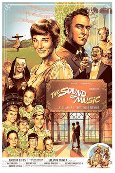 """The Sound of Music: """"Von Trapp"""" by Aurelio Lorenzo - Hero Complex Gallery"""