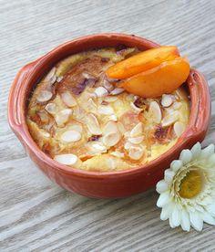 Clafoutis aux abricots-romarin et amande