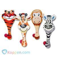 Batje met bal wilde dieren - Koppen.com