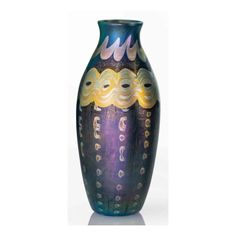 Decorated Vase | Important Design: from Noguchi to Lalanne | Sotheby's Tiffany Glass, Vases Decor, Auction, Design
