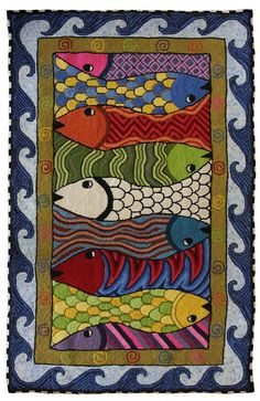 Image result for rug hooking border ideas