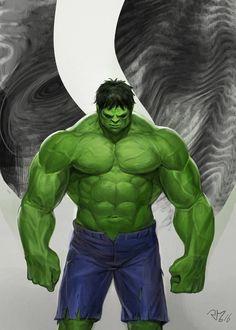 #Hulk #Fan #Art. (Hulk) By:Okwang. (THE * 5 * STÅR * ÅWARD * OF: * AW YEAH, IT'S MAJOR ÅWESOMENESS!!!™)[THANK Ü 4 PINNING<·><]<©>ÅÅÅ+(OB4E)