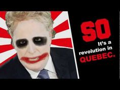 It's a revolution in Quebec. (PRESS CC for English subtitles)