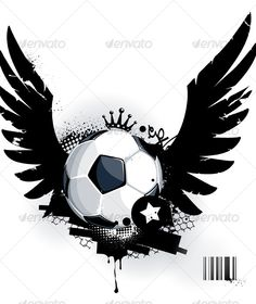 Realistic Graphic DOWNLOAD (.ai, .psd) :: http://jquery.re/pinterest-itmid-1000128642i.html ... Soccer ball on dirty background ... abstract, ball, crown, flying, football, graffiti, grunge, object, soccer, splash, sport, surreal, team, wing ... Realistic Photo Graphic Print Obejct Business Web Elements Illustration Design Templates ... DOWNLOAD :: http://jquery.re/pinterest-itmid-1000128642i.html