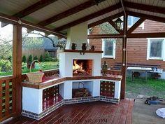 Gazebo, Pergola, Bbq, Outdoor Structures, House Design, Patio, Outdoor Decor, Home Decor, Garden