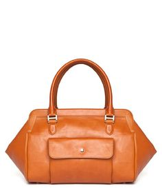 Uterque Bowling bag with front pocket
