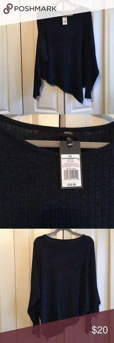 Mossimo Ladies Blouse XL NWT Blue NWT Ladies Blue Mossimo Blouse Mossimo Supply Co Tops Blouses
