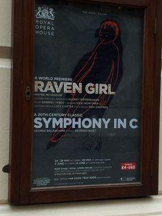 Raven Girl / Symphony in C. Royal Opera House. 2013